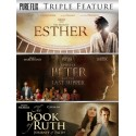 Triple Feature: Esther/Apostle Peter & Last Supper/Book Of Ruth (3 DVD)