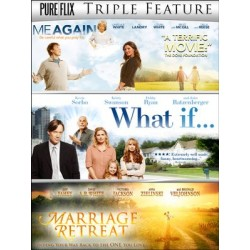 Triple Feature-Marriage Retreat/Me Again/What If DVD Movies
