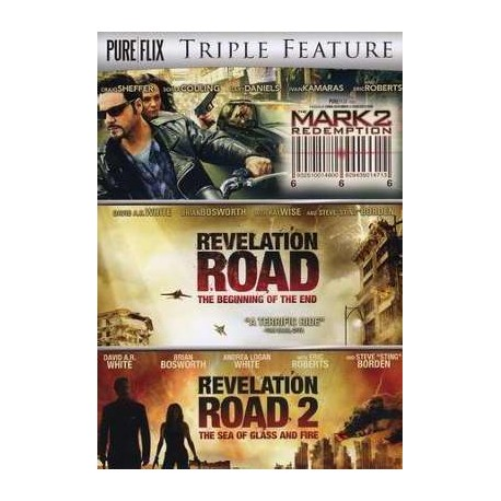 Triple Feature: Mark 2-Redemption/Revelation Road/Revelation Road 2 DVD Movies